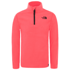 Glacier 1/4 Zip Girl ATOMIC PINK/ZINNIA ORANGE