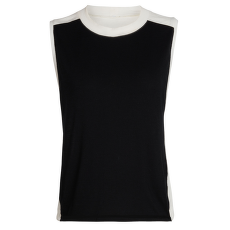 Kinetica Sleeveless Crewe Women Black/Snow