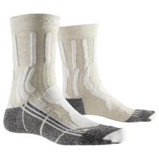 Trek X Cotton Socks Women White/Anthracite