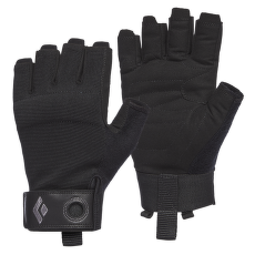 Crag Half-Finger Gloves Black
