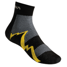 Short Distance Socks Black/Yellow (Black Yellow)