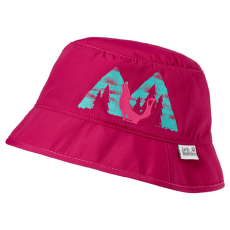 Howling Wolf Hat Kids azalea red 2081