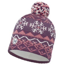 Knitted & Polar Hat (113339) PLUM