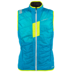 Trace Primaloft Vest Men Tropic Blue/Apple Green