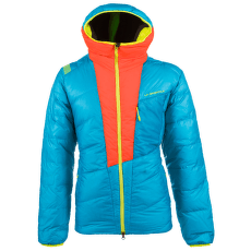 Command Down Jacket Men Tropic Blue/Pumpkin