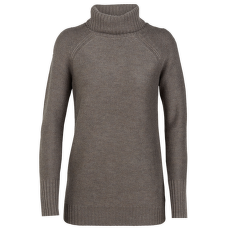 Waypoint Roll Neck Sweater Women TOAST HTHR IBANS_1967