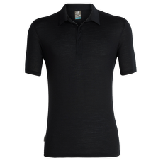 Solace SS Polo Men Black1