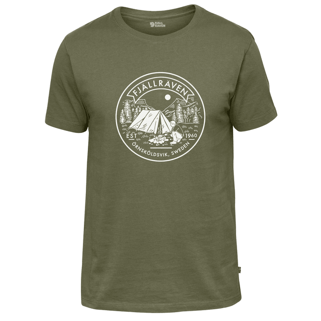 Lägerplats T-Shirt Men Green