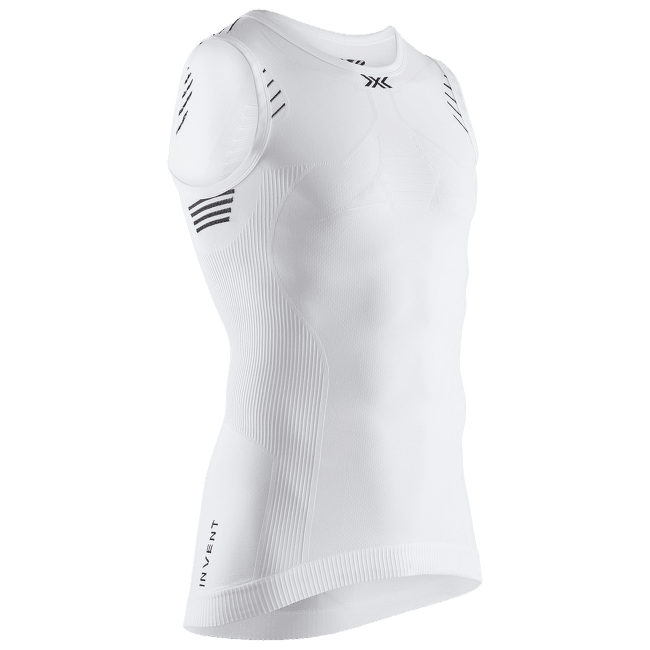 Invent® LT Singlet Men White-Black-Orange