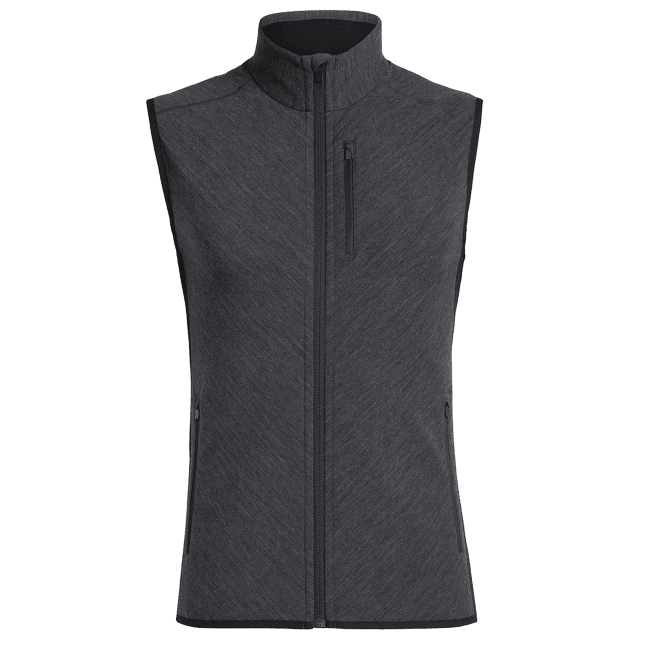 Descender Vest Men (104855) Jet HTHR/Black