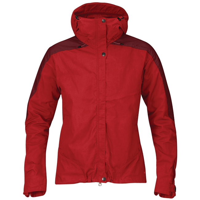 Skogsö Jacket Women Red-Ox Red
