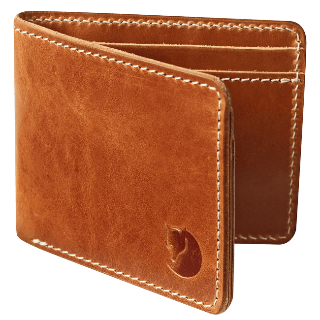 Ovik Wallet Leather Cognac