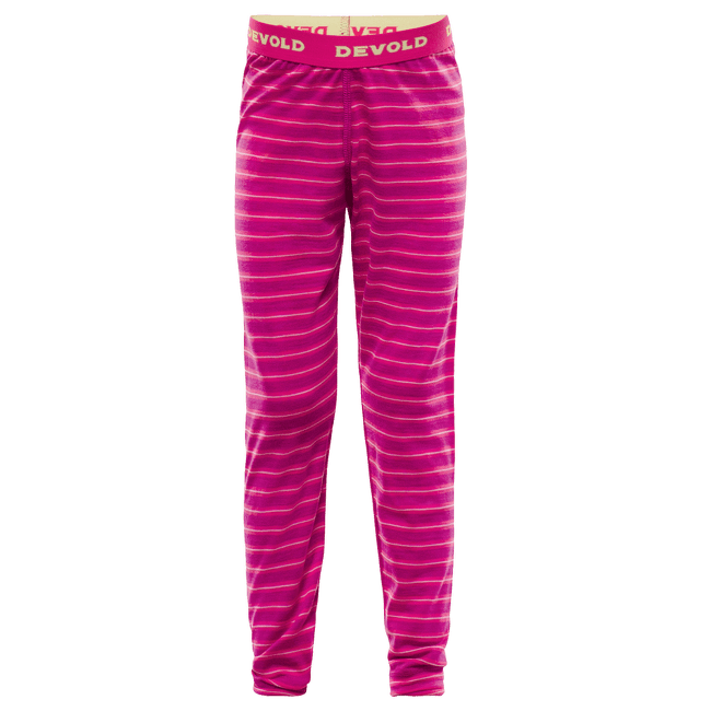 Breeze Kid Long Johns 512 FUCHSIA STRIPES
