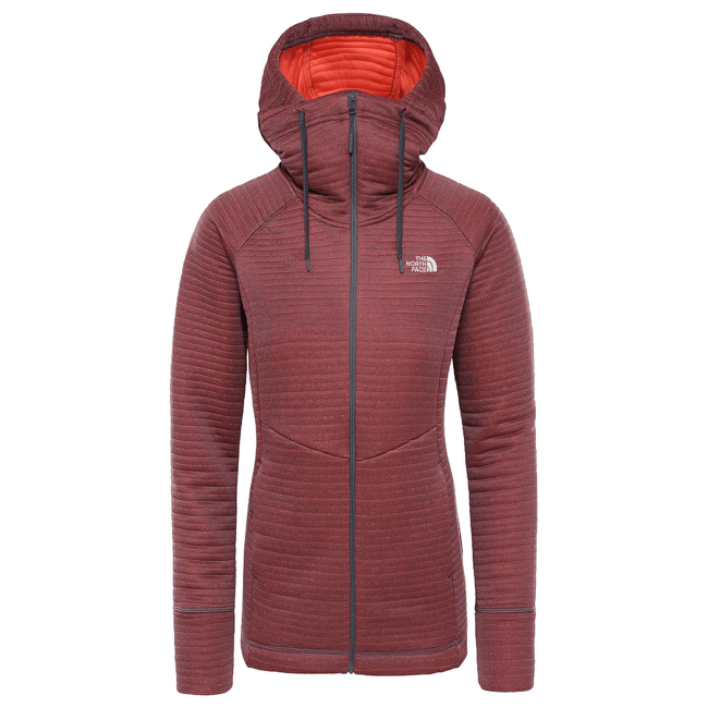 Hikesteller Midlayer Women VANADIS GRY/RADIANT ORNGE