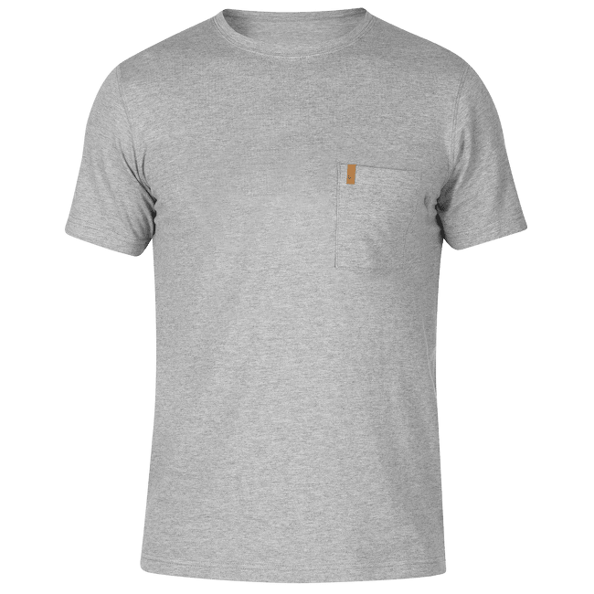 Ovik Pocket Shirt Men Grey