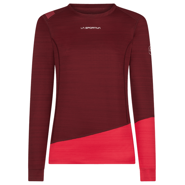 Dash Long Sleeve Women Wine/Orchid
