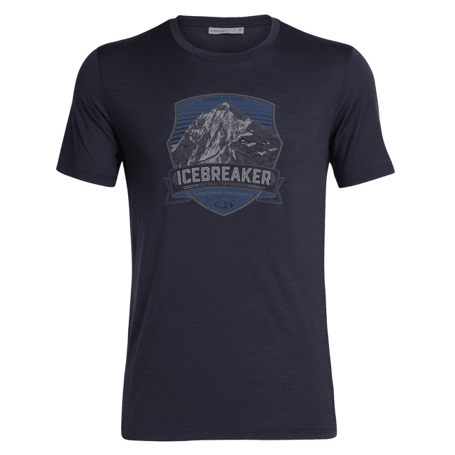 Tech Lite SS Crewe Everest Crest Men Midnight Navy