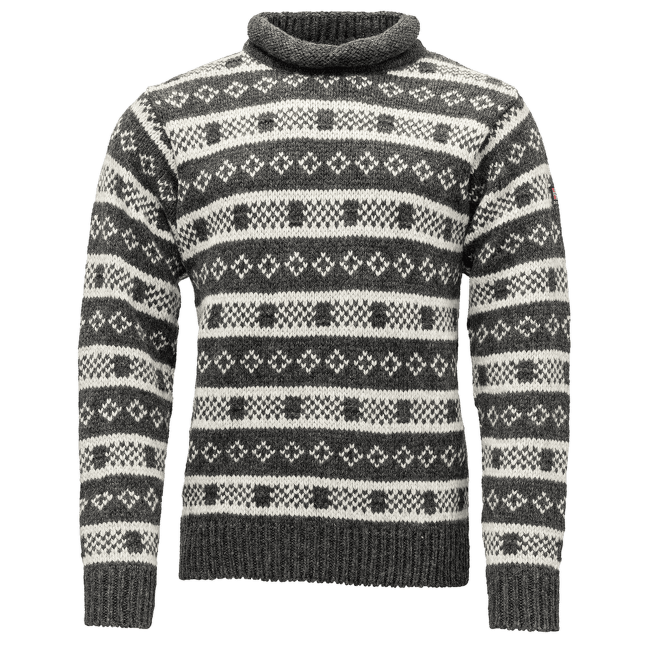 Alnes Sweater Roll Neck 900A ANTH./GREY MELA