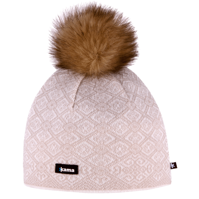 A92 Knitted Hat off white