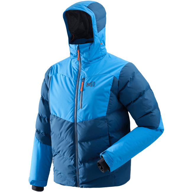Robson Peak Jacket Men POSEIDON/ELECTRIC BLUE