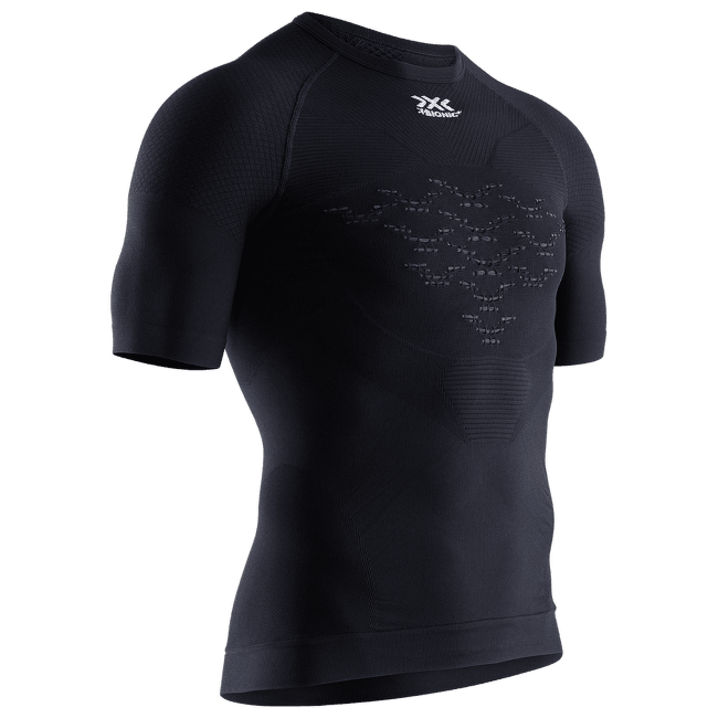 Energizer MK3 LT Shirt Round Neck SH SL Men Black Melange