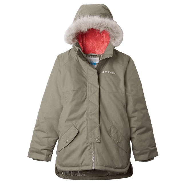 Carson Pass™ Mid Jacket Girls Cypress Heather 317