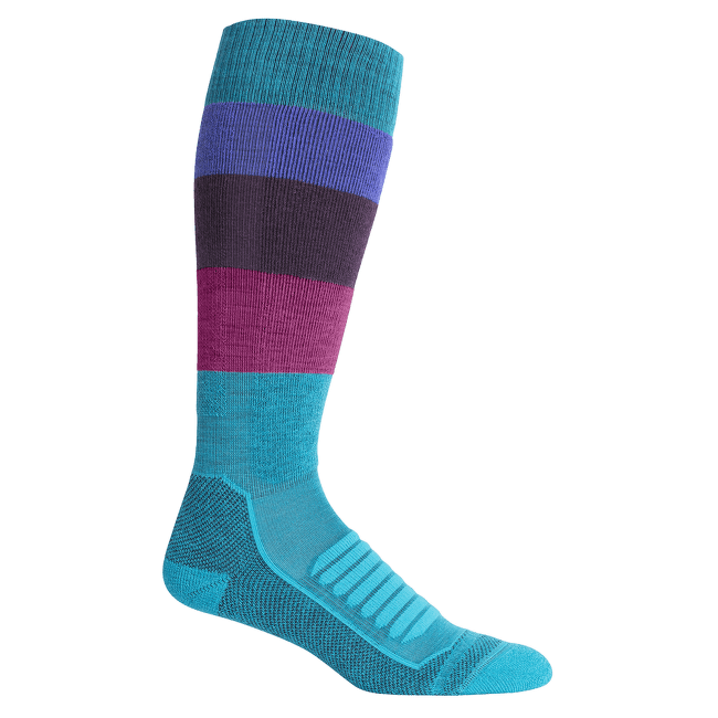Ski+ Medium OTC Wide Stripe Women ARCTIC TEAL