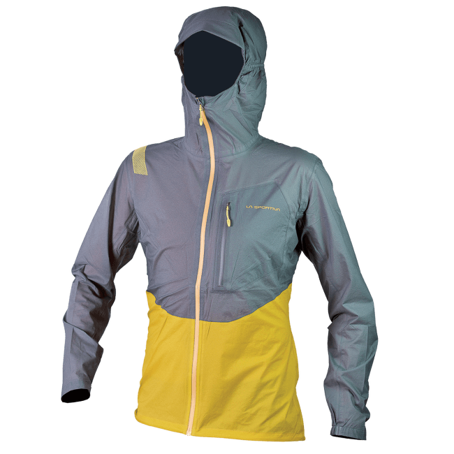 Hail Jacket Men Nugget/Grey