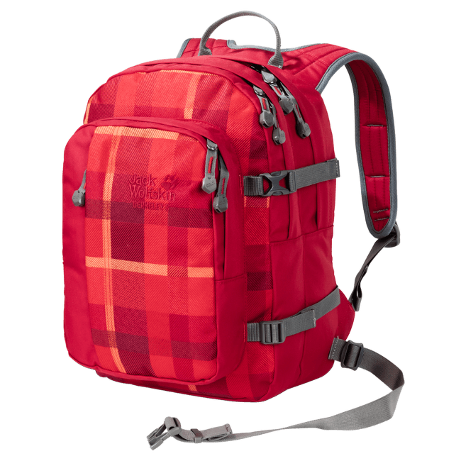 Berkeley S indian red woven check 7941
