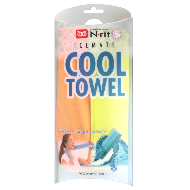 Cool Towel Twin LIME/ORANGE