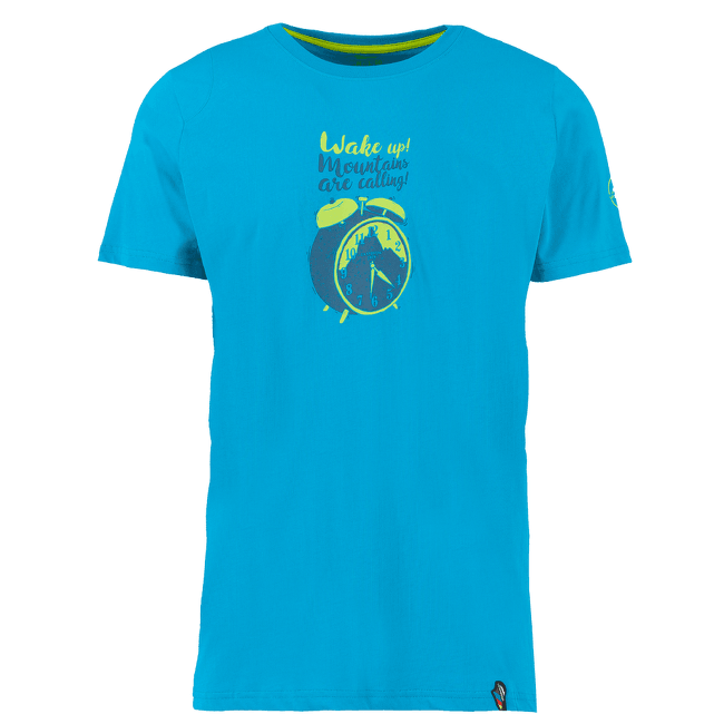 Calling T-Shirt Men Tropic Blue