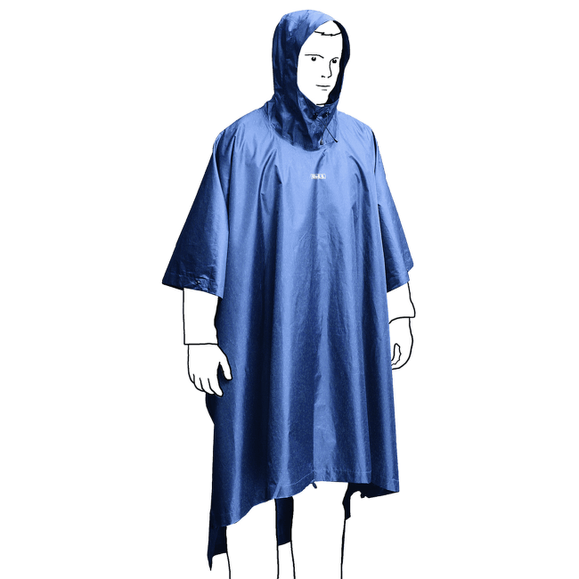 Bivy Poncho RF Crocus/Boysenberry