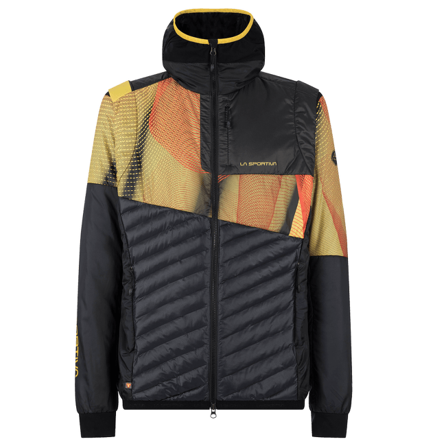 Faster Primaloft Jacket Men Black/Yellow 999100
