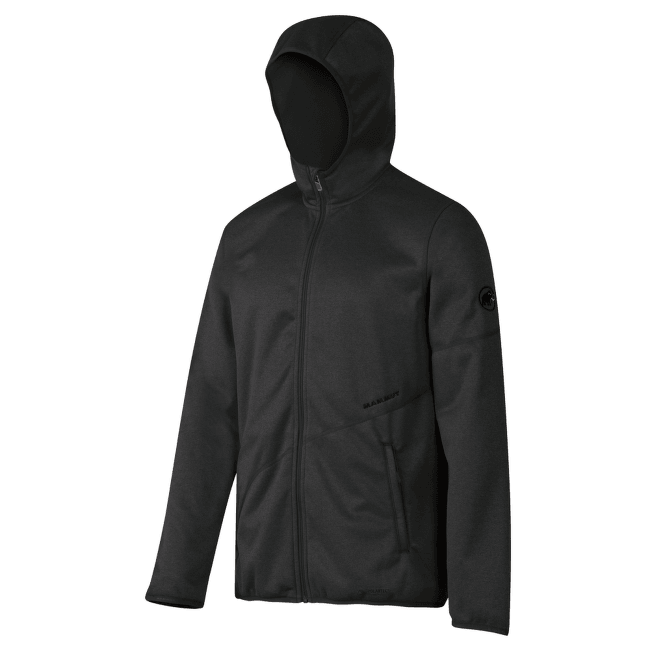 Go Far Hooded Jacket Men graphite mélange 0397