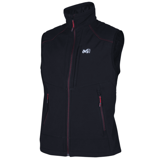 Track Vest Men BLACK - NOIR
