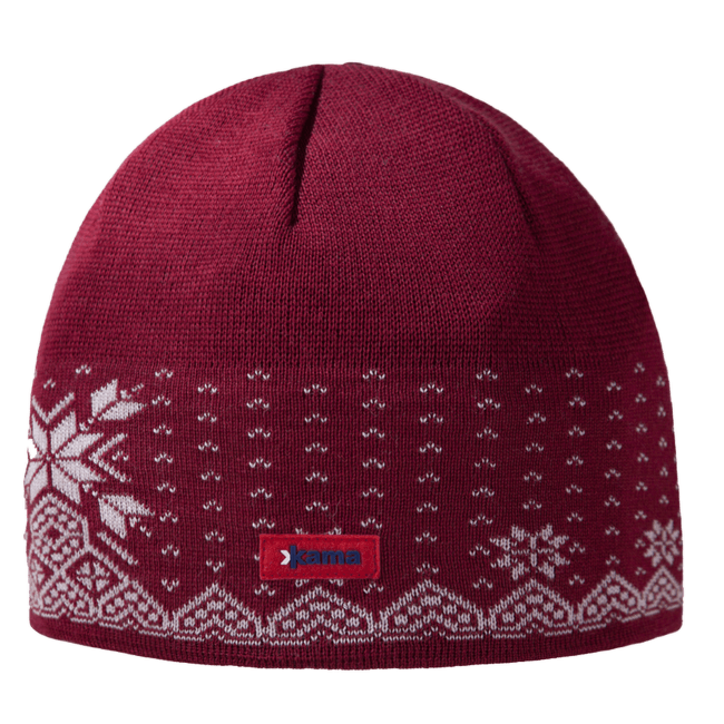 A37 Knitted Hat red