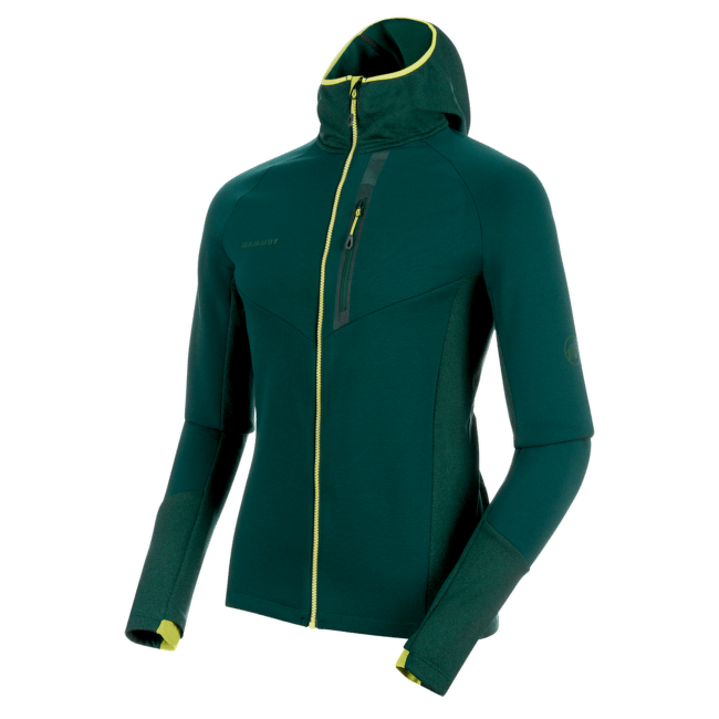 Aconcagua Pro ML Hooded Jacket Men (1014-00310) 40025 dark teal-dark teal melange