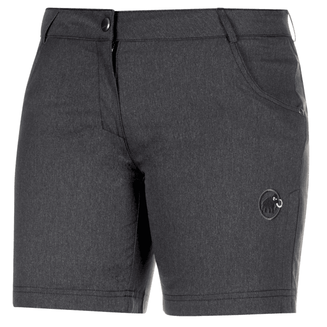 Massone Shorts Women black mélange 0033