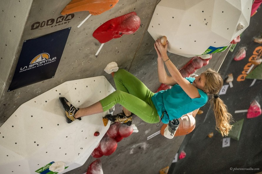 LA SPORTIVA SPORTlife bouldercontest JUNIOR 2016